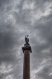 The Alexander Column, Dvortsovaya Square Royalty Free Stock Image
