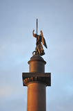 Alexander Column and Palace Square- Saint Petersburg Royalty Free Stock Photos
