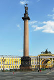 Alexander Column at Palace Square Royalty Free Stock Photography
