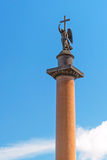 Alexander Column in Saint Petersburg Royalty Free Stock Image