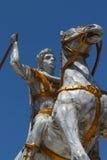 Alexander das größte, mazedonisch Stockfotografie