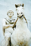 Alexander der Große-Statue Stockfotografie