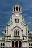 alexander domkyrka nevsky sofia Royaltyfria Bilder