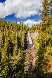 Alexander Falls, Brits Colombia, Canada Royalty-vrije Stock Fotografie
