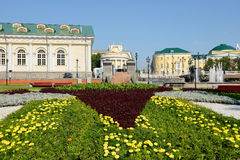 Alexander Garden and Manege Square Stock Photography
