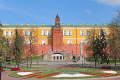 Alexander Garden in Moscow. Royalty Free Stock Photo