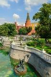 Alexander garden in Moscow Stock Photos