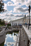Alexander Garden, Moscow, Russia Royalty Free Stock Image