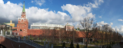 Alexander Garden, Moscow, Russian federal city, Russian Federation, Russia Royalty Free Stock Photography