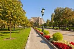 Alexander Garden. Moscow Stock Images