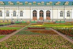 Alexander Garden och Moskva Manege. Ryssland Royaltyfri Foto