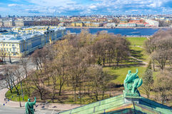 The Alexander Garden from the roof Stock Photography