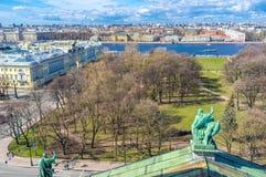 Alexander Garden vom Dach Stockfoto