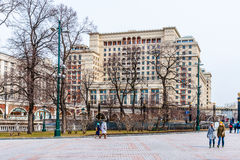 Alexander Garden y hotel de cuatro estaciones Fotos de archivo libres de regalías