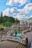 Alexander Gardens in Moscow Stock Photo