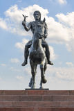 Alexander The Great on Horse Statue Stock Photo