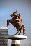 Alexander the Great, Skopje Royalty Free Stock Images