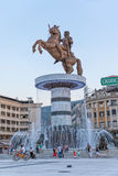 Alexander the Great Skopje Stock Image