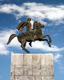 Alexander the Great statue, Thessaloniki Stock Photo