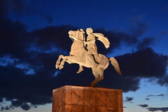 Alexander the Great statue Royalty Free Stock Photos