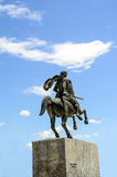 Alexander the Great in Thessaloniki, Greece. Macedonia Royalty Free Stock Photography
