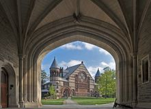 Alexander Hall all'universit? di Princeton in Princeton, New Jersey U.S.A. fotografie stock