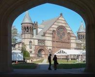 Alexander Hall på det Princeton universitetet Royaltyfria Bilder