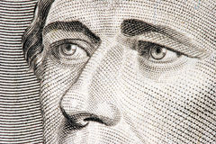 Alexander Hamilton Close Up Royalty Free Stock Photos