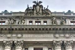 Alexander Hamilton U S Aduanas Imágenes de archivo libres de regalías