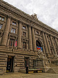 Alexander Hamilton USA Obyczajowy dom w lower manhattan Fotografia Stock