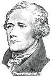 Alexander Hamilton (vector) Royalty Free Stock Images