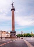 Alexander has a Column Royalty Free Stock Photo