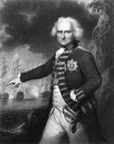 Alexander Hood, 1r vizconde Bridport Imagen de archivo libre de regalías