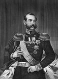 Alexander II of Russia Royalty Free Stock Photos