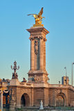 Alexander III Bridge Royalty Free Stock Image