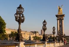 Alexander III Bridge Royalty Free Stock Photography