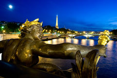 Alexander III Bridge in Paris Stock Photography