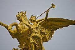 Alexander III bridge at Paris, France Stock Image