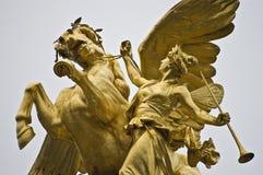 Alexander III bridge at Paris, France Stock Photography