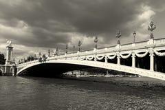 Alexander III bridge, Paris Royalty Free Stock Image