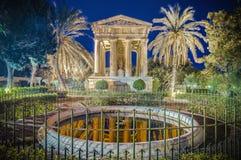 Alexander John Ball monument in Valletta, Malta stock images