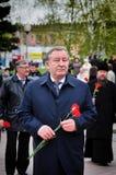 Alexander Karlin-Member du Conseil de fédération de l'Assemblée fédérale de la Fédération de Russie franc images stock