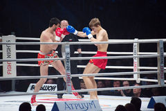 Alexander Mischenko versus Timur Aylyarov Royalty Free Stock Photo