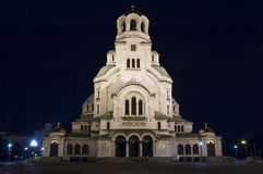 Alexander Nevski Cathedral Fotografia Stock Libera da Diritti