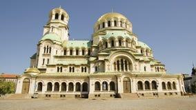 Alexander Nevski Cathedral/Aleksander Nevsky Arkivbild