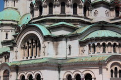 Alexander Nevski Cathedral, Sofia Bulg Stock Afbeeldingen