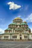 Alexander Nevski Cathedral in Sofia, Bulgaria Stock Images