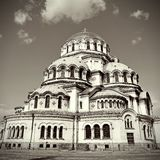 Alexander Nevski Cathedral in Sofia, Bulgaria Stock Photography