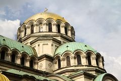 Alexander Nevski cathedral Royalty Free Stock Images