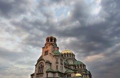Alexander Nevski Church. Aleksander Nevsky Cathedral in Sofia, Bulgaria Stock Photography